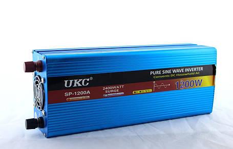 Перетворювач синусоїда (модифікована) AC/DC sine пікова потужність 1200W, фото 2