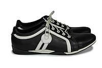 Мужские кожаные спортивные туфли.