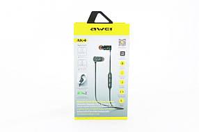 Навушники бездротові з мікрофоном Awei AK4 BT