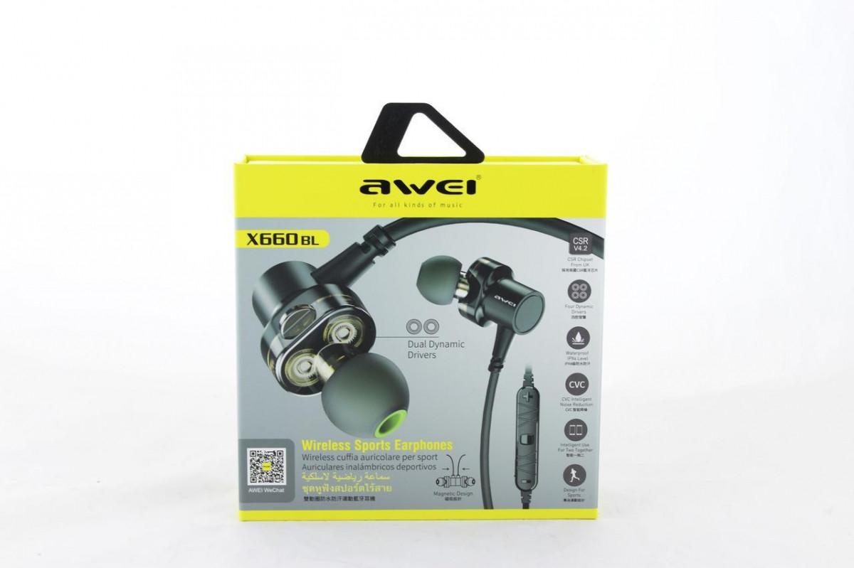 Навушники MDR X660 + BT AWEI