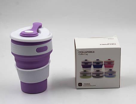 Складной силиконовый стакан MAGIC CUP, фото 2