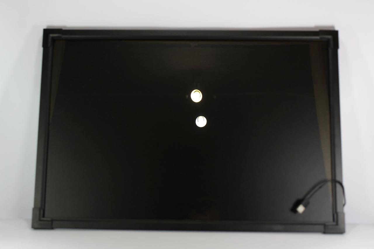 Светящаяся флуоресцентная доска для рисования 60x80 см.