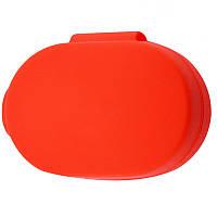Силиконовый футляр для наушников AirDots Красный