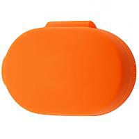 Силиконовый футляр для наушников AirDots Оранжевый