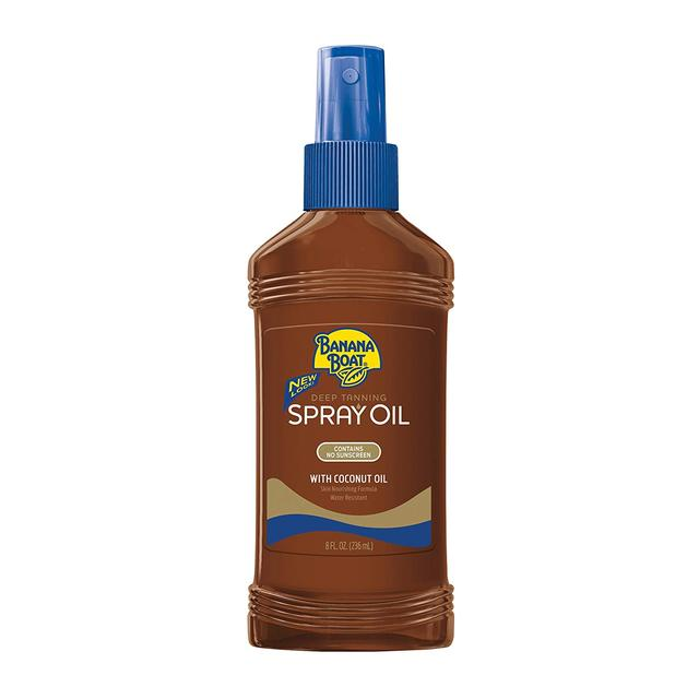 Banana Boat Deep Tanning Oil Spray with Carrot and Banana Extracts