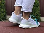 Женские кроссовки Adidas Alphaboost (белые) 9383, фото 2