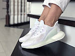 Женские кроссовки Adidas Alphaboost (белые) 9383, фото 3