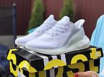 Жіночі кросівки Adidas Alphaboost (білі) 9383, фото 4