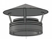 Грибок 100 мм. толщина метала 0,5