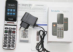 Bravis C244 Signal Dual Sim Red