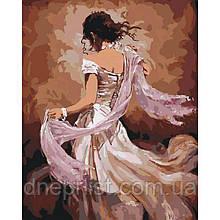 "Картина по номерам ""Танцовщица фламенко"", 40х50 см, 4*"