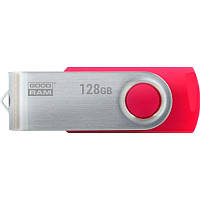Флеш-накопитель USB3.0 128GB GOODRAM UTS3 (Twister) Red (UTS3-1280R0R11)