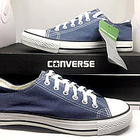 Низкие кеды Конверсы Converse Chuck Taylor All Star. Голубые