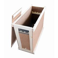 Ящик для пчелопакетов на 4-5 рамок Дадана ДВП ЛЮКС