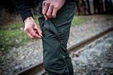 Теплые штаны карго хаки Conqueror Intruder + подарок, фото 3