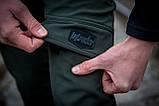 Теплые штаны карго хаки Conqueror Intruder + подарок, фото 5