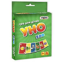Настольная игра STRATEG UNO ZOO 108 карточек 2-7016-65308, КОД: 120492