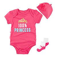 Комплект для девочки 3 в 1 маленькая принцесса berni 12 Berni