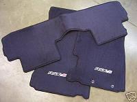 Acura RSX коврики велюровые Type S новые оригинал 2002-06