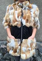 Женский жилет из меха лисы. , фото 1
