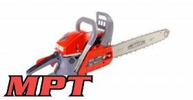"""MPT  Пила цепная бензиновая, 2200 Вт, 58 см3, 450 мм/18"""", плавный пуск, Арт.: MGS5802-18"""