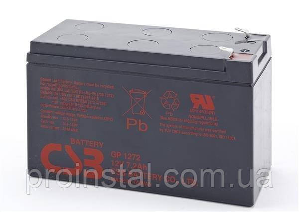 Аккумуляторная батарея CSB 12V 7.2Ah GP1272F2