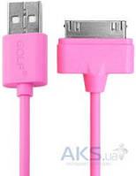 Кабель USB GOLF Rainbow Series Dock Cable Pink