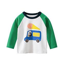 Лонгслив для мальчика Машина с мороженым 27 KIDS (90)