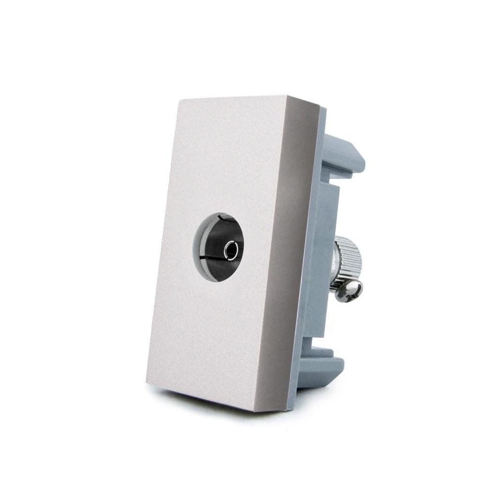 Механизм розетка телевизионная Livolo TV серый (VL-C7-1V-15)
