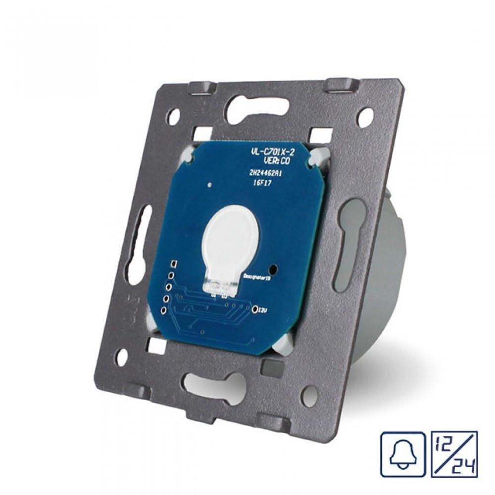 Механизм сенсорная кнопка Livolo 12/24 вольт (VL-C701CH)