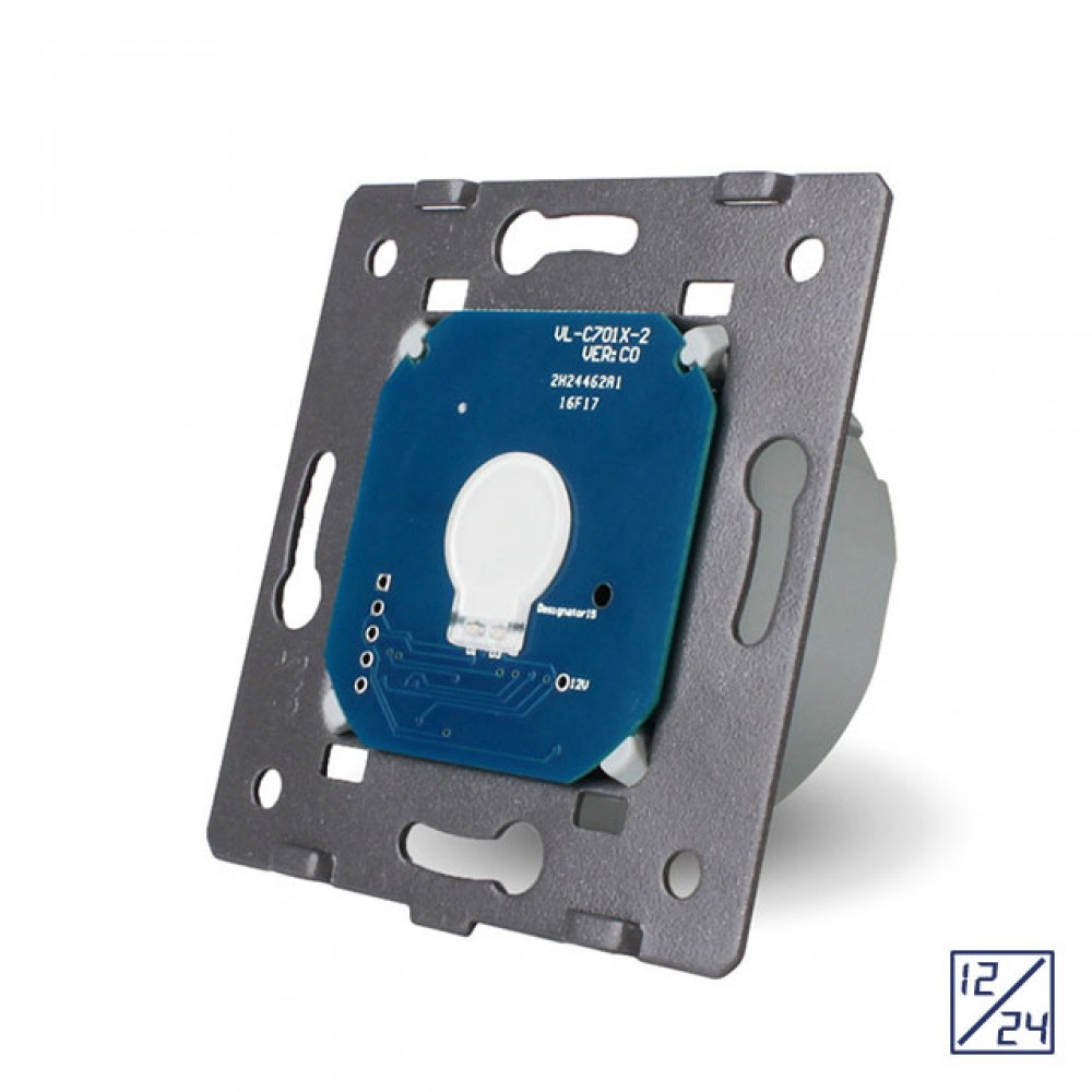 Механизм сенсорный выключатель Livolo 12/24 вольт (VL-C701C)