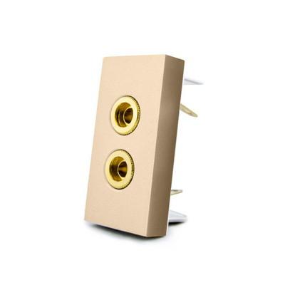 Механизм розетка аудио Banana Livolo золото (VL-C7-91A-13)