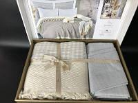 Летнее постельное белье с пике Favorite Armani Lila