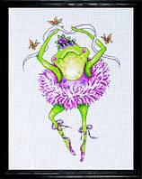"""Набор для вышивки """"Лягушка-танцовщица"""" (Frog Dancer)"""