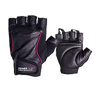 Перчатки для фитнеса и тяжелой атлетики PowerPlay 2227 черные XL