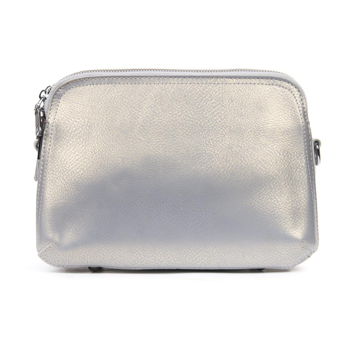 Сумка Женская Клатч кожа ALEX RAI 06-1 8725 bead light-grey