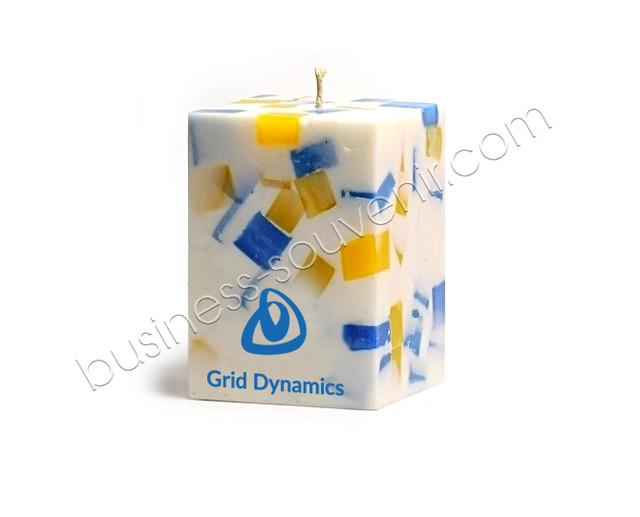 Свічки з логотипом