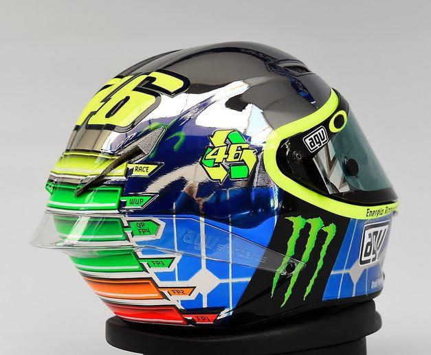 В 2016 году планируют выпустить лимитированную реплику шлема Валентино Росси