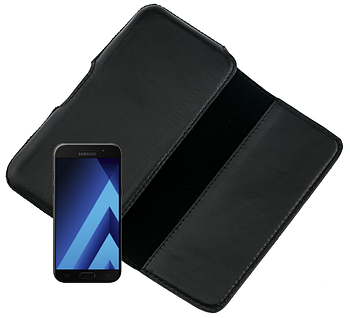 Чехол на пояс Valenta для Samsung Galaxy A5 Черный