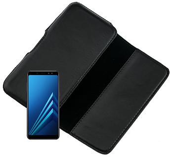 Чехол на пояс Valenta для Samsung Galaxy A8 Черный