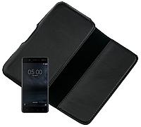 Чехол на пояс Valenta для Nokia 5 Dual Sim Черный, фото 1