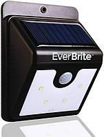 Фонарь уличного освещения на солнечных батареях с датчиком движения Everbrite LED
