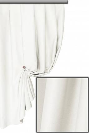 Ткань Блэкаут Однотонный Белый, фото 2
