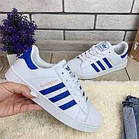 Кроссовки женские Adidas Superstar  00034 ⏩ [ 37 последний размер ]