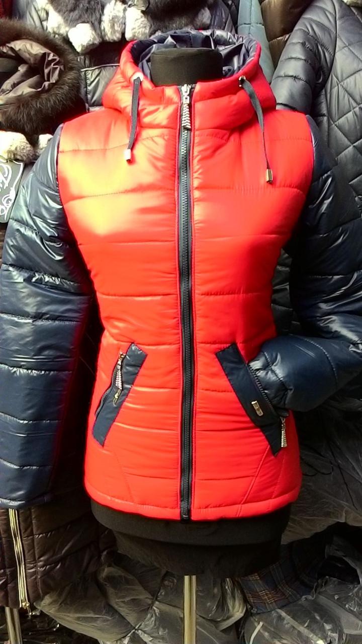 Куртка женская Кристи красная