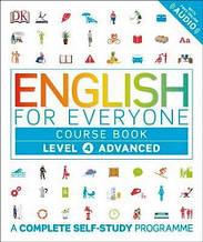 Учебник English for Everyone Level 4 Advanced Course Book / Dorling Kindersley