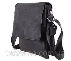 Мужская кожаная сумка Dovhani MESS8138-13 Черный, фото 2