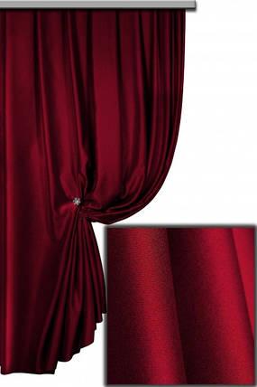 Ткань Блэкаут Однотонный Бордо, фото 2