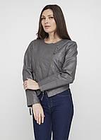 Женская демисезонная куртка Mark L Темно-серая 8030046, КОД: 1452748
