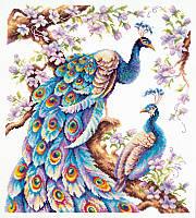 Набор для вышивки крестиком Во всей красе  32 х 36 см Чудесная игла